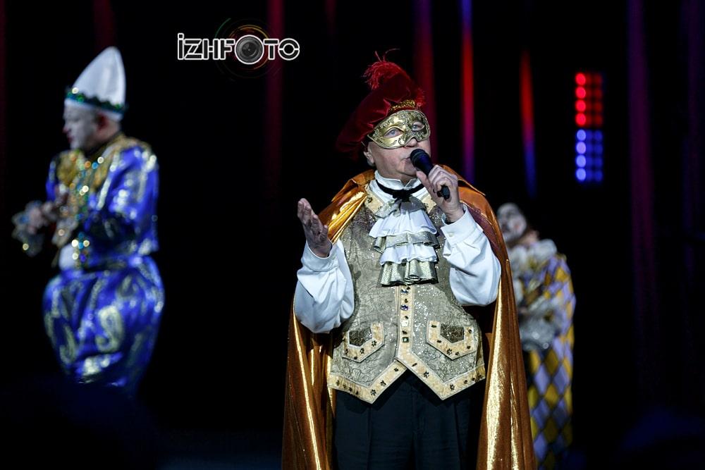 Венециано в цирке Ижевска