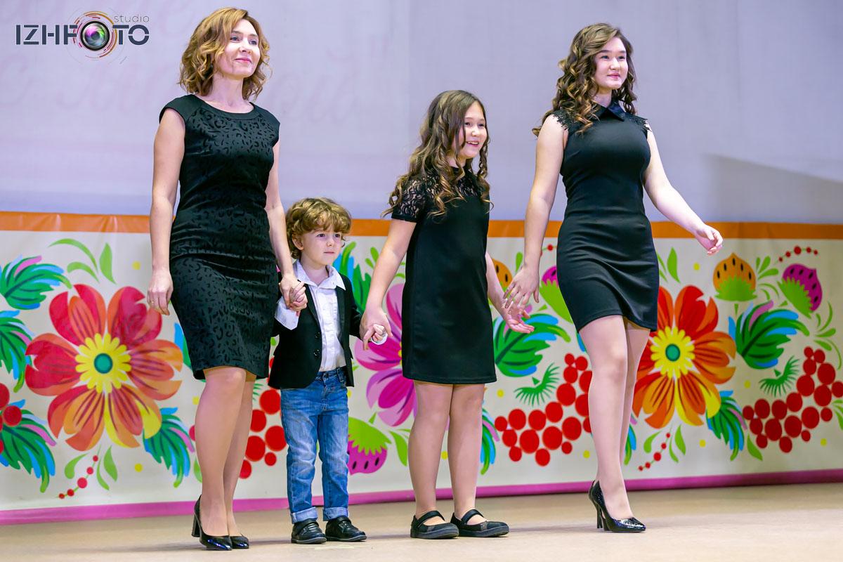 Фото с семейного конкурса красоты и талантов