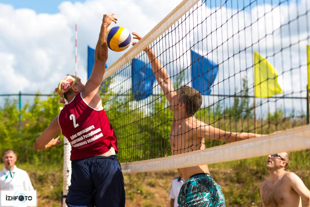 Пляжный волейбол в Ижевске