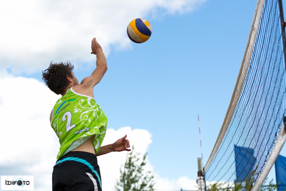 Пляжный волейбол Игра Фото