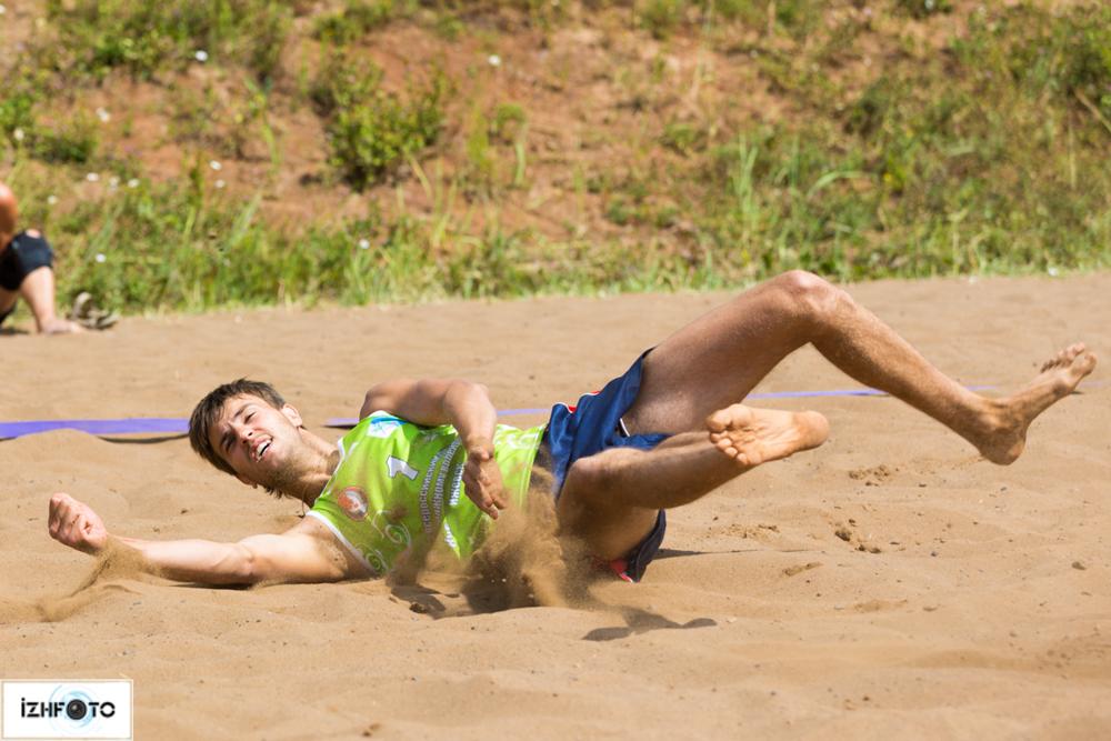 Игра в волейбол Ижевск Фото