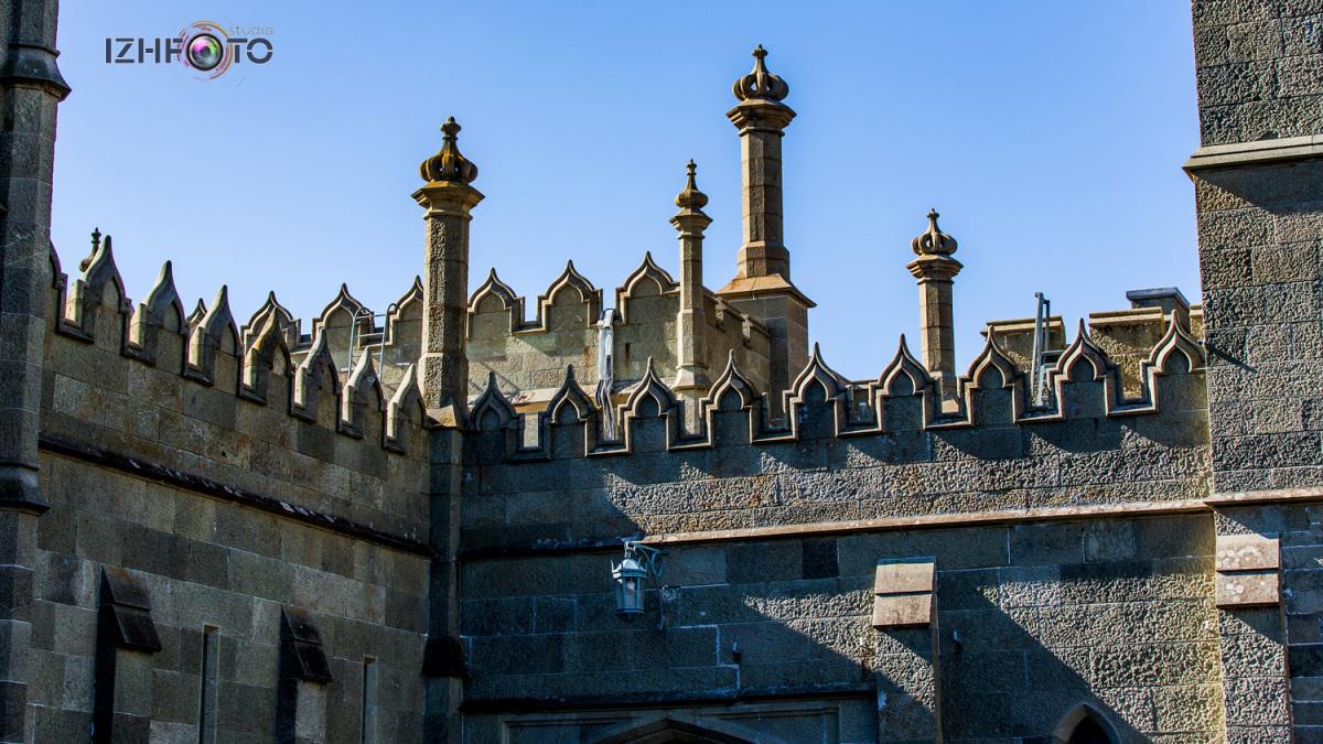 Куда съездить в Крыму Воронцовский дворец Фото