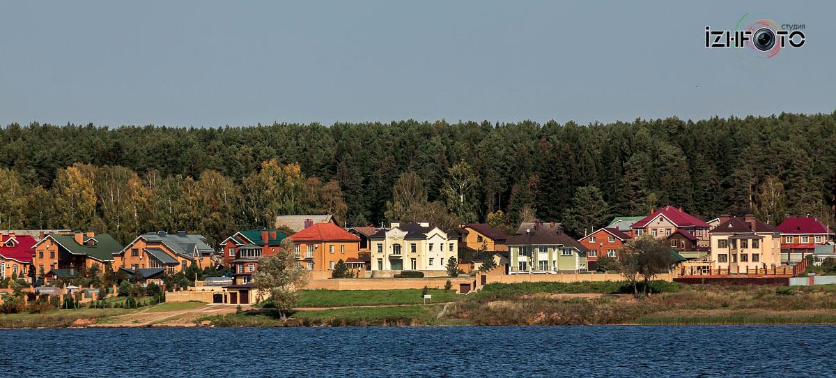 Набережная Воткинского пруда Фото
