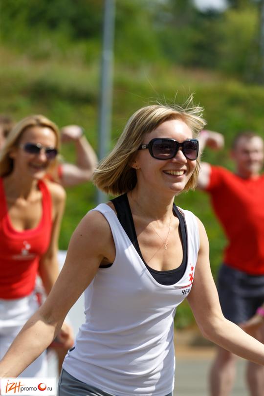 Занятия фитнесом на свежем воздухе, СК Чекерил