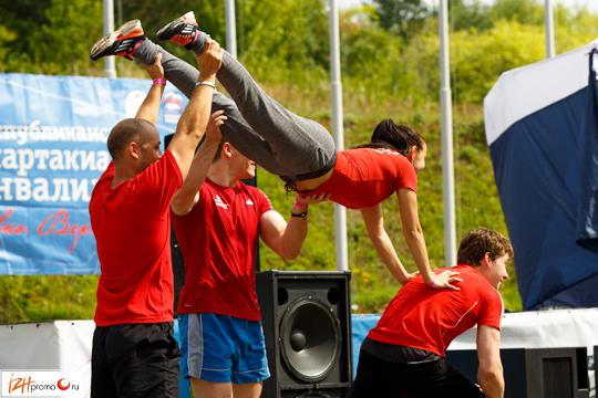 Выступление тренеров и фитнес-инструкторов СК Чемпион, Ижевск