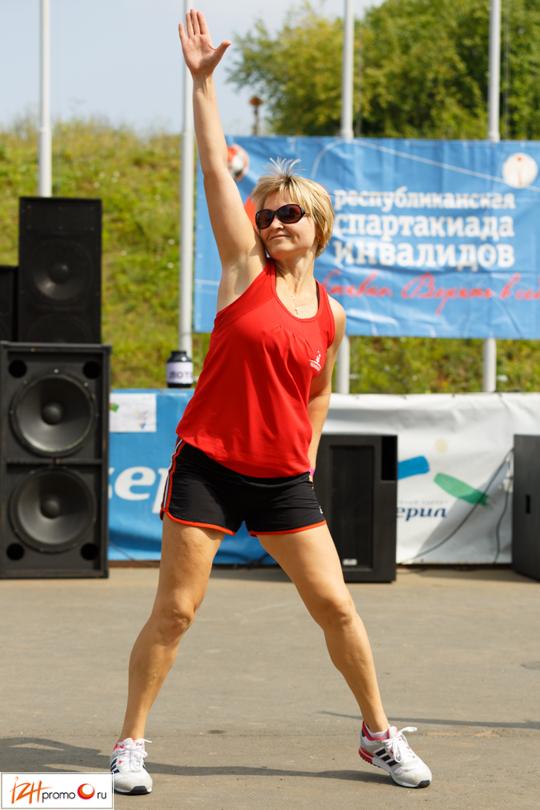 Нина Пудова, фитнес-инструктор спортклуба Чемпион, Ижевск