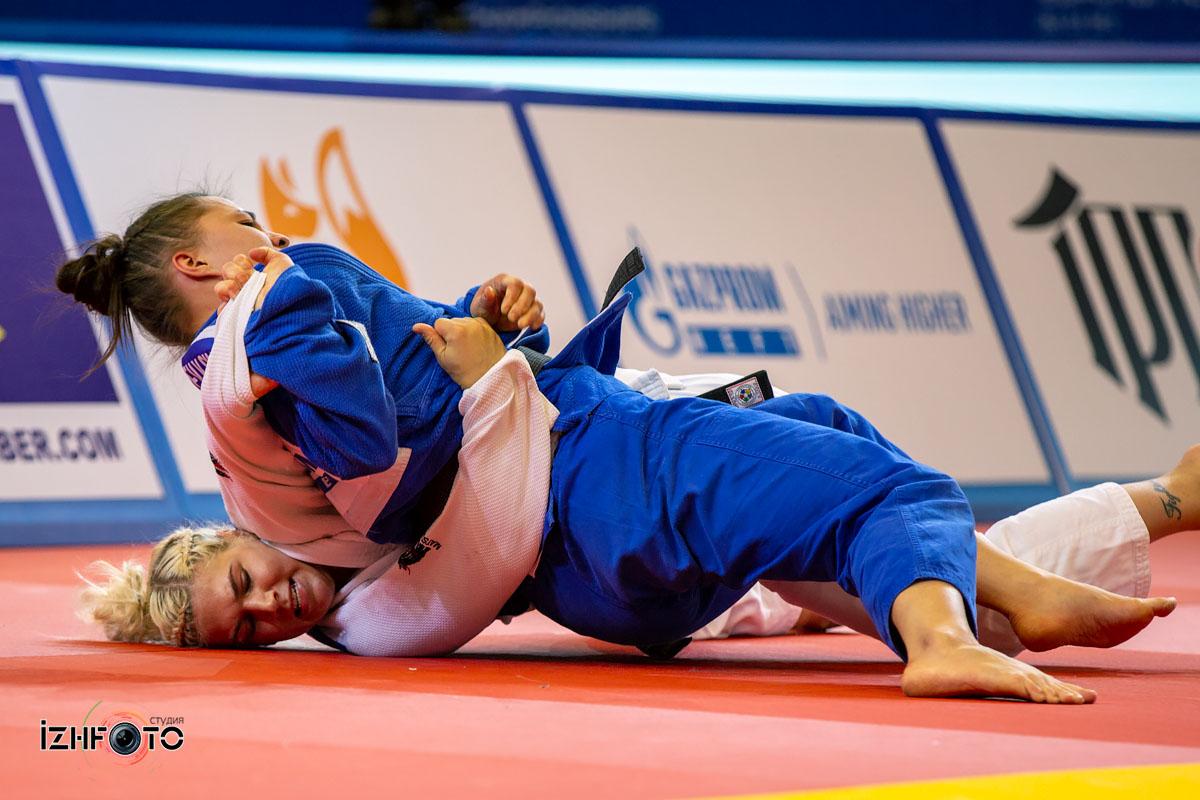 Юниорки на Чемпионате Европы по дзюдо в Ижевске