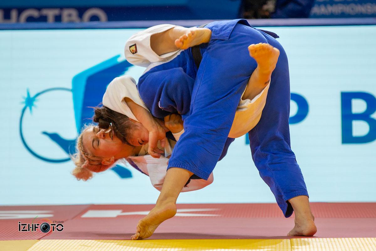 Финальные схватки на Чемпионате Европы дзюдо Ижевск