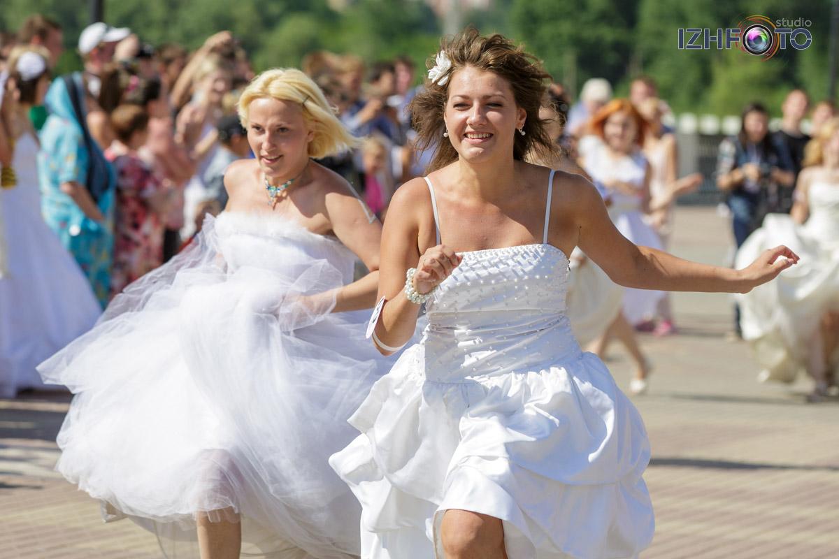 Марафон невест - фоторепортаж