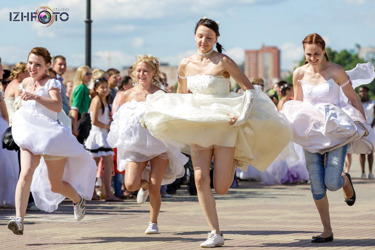 На старт! Внимание! Марш! Невесты фото