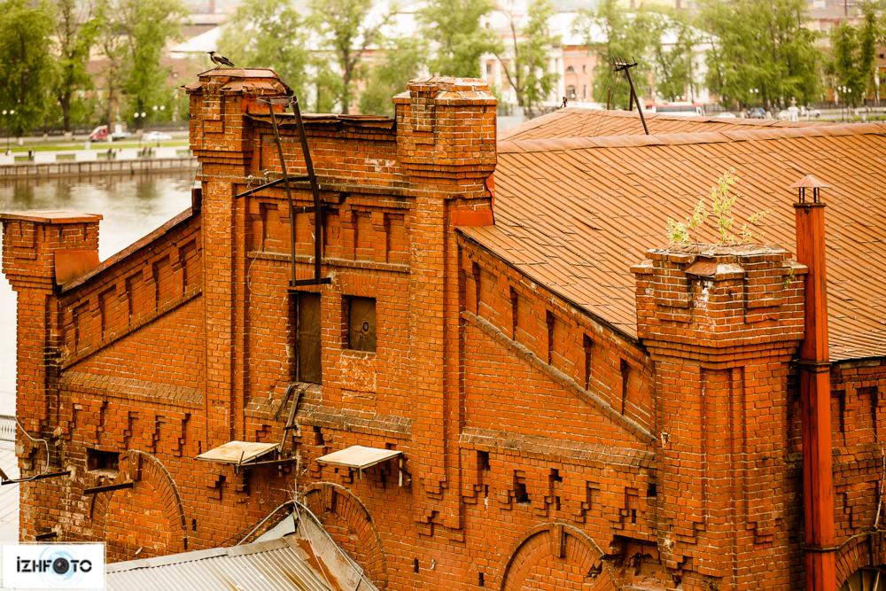 Заброшенные здания Ижевска