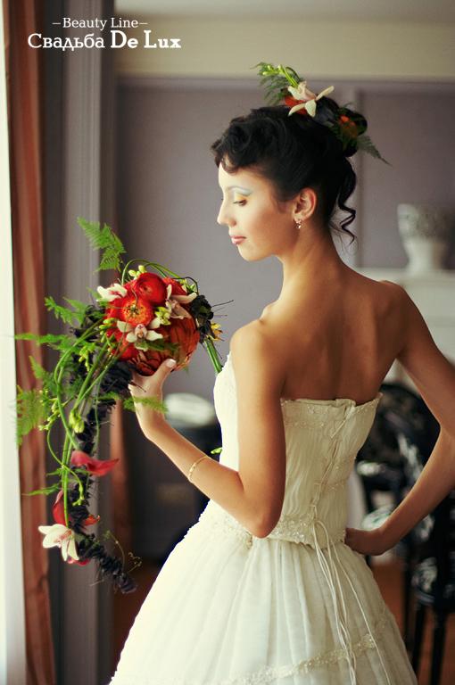 Свадебная прическа, салон красоты Beauty line (Бьюти лайн), Ижевск