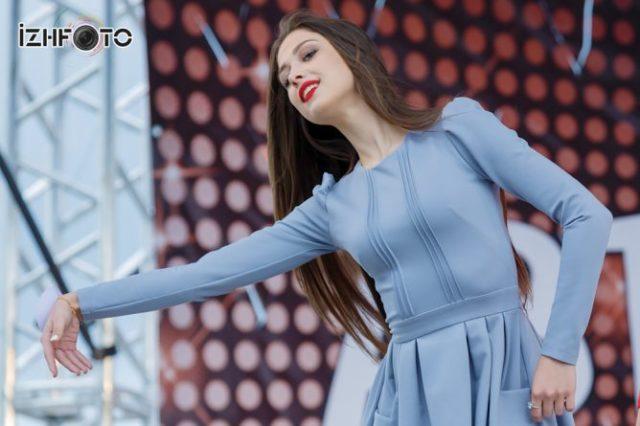 дефиле участниц Мисс БАФИ 2015