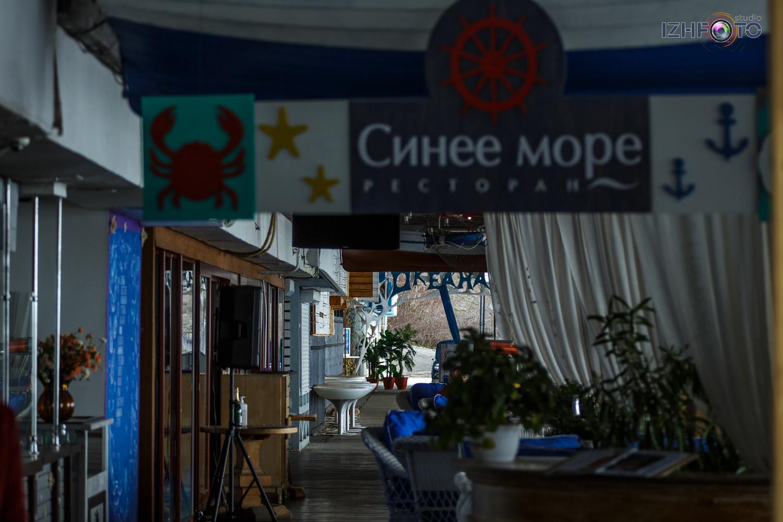 Ресторан Синее море в Ялте Крым Сочи