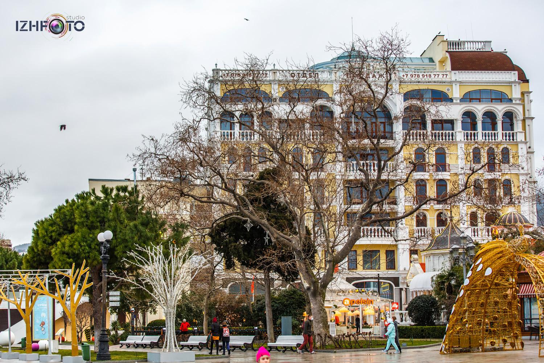 Grand cafe Apelsin в Ялте Крым Фото